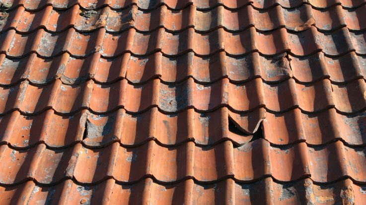 Tips for Identifying a Hail Damaged Roof