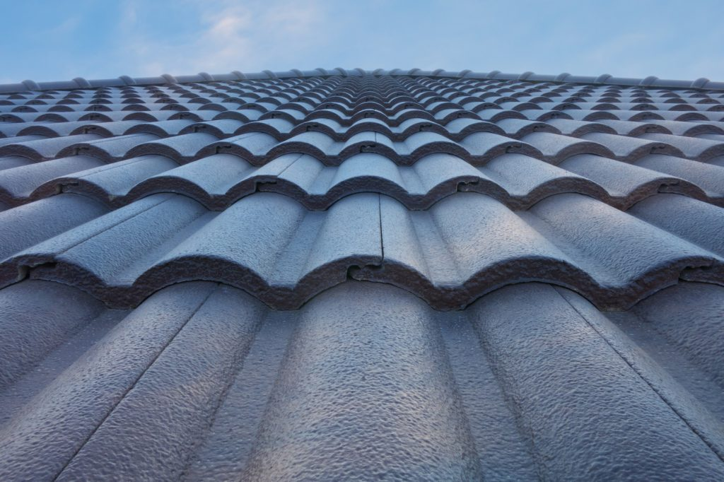 an up close shot of a shingle roofing system